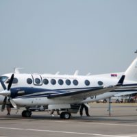 Beechcraft King Air 350 Spy Photos