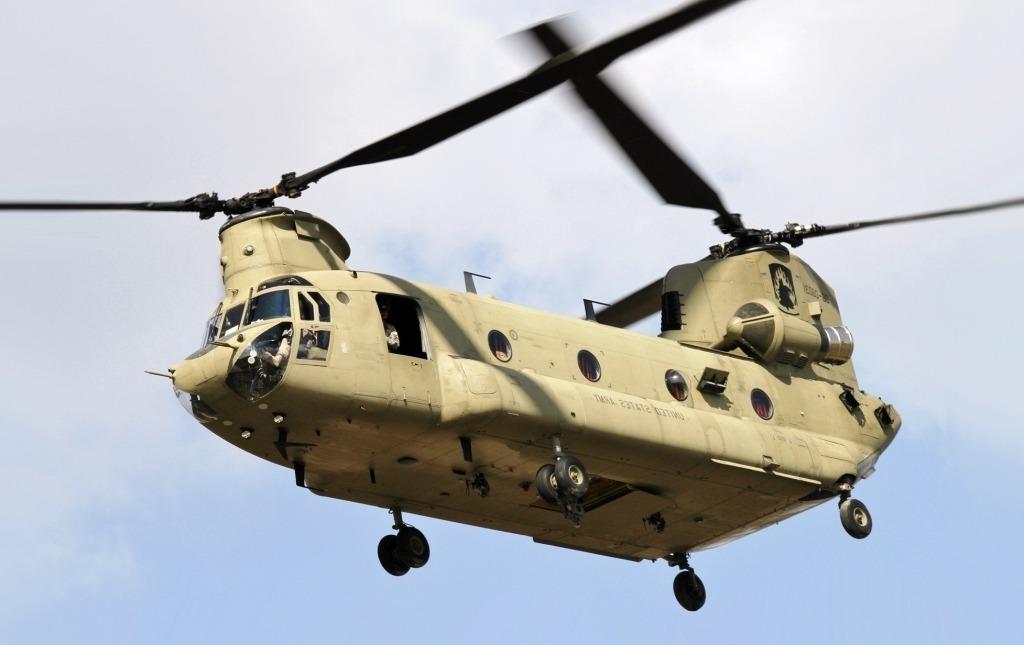Boeing CH–47 Chinook Drivetrain