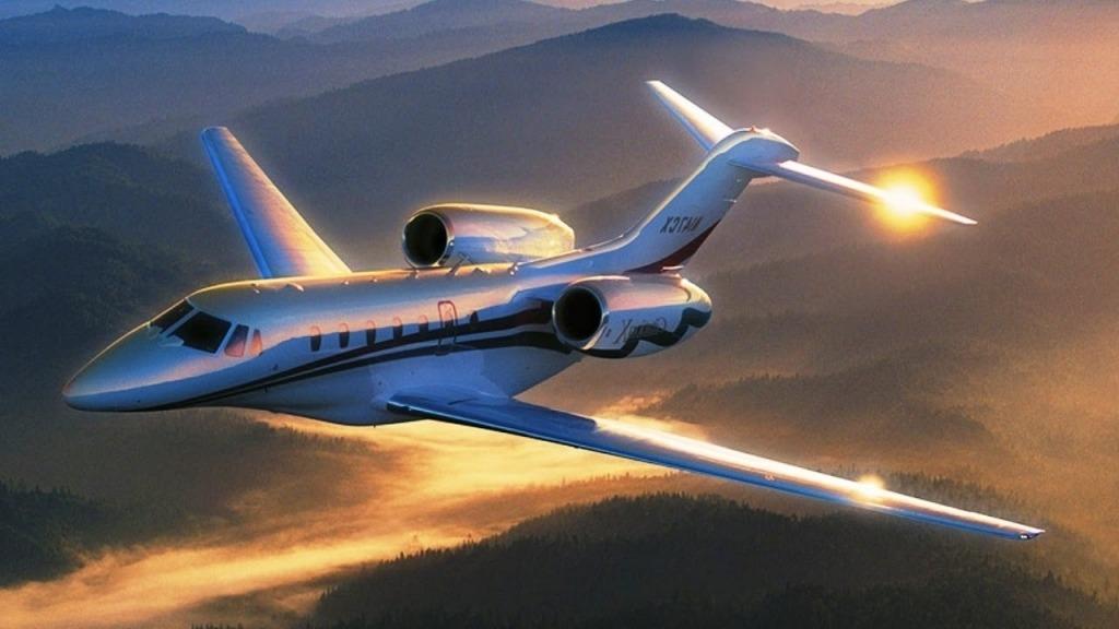 Cessna Citation X Spy Photos