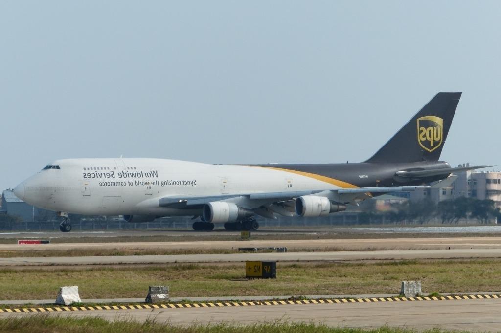 Boeing 747 400F Interior