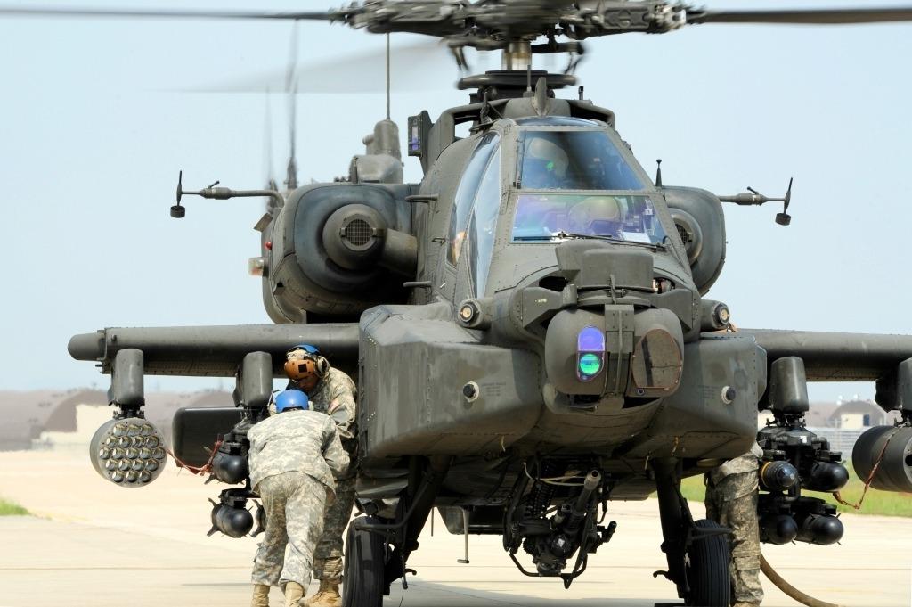 Boeing AH64 Apache Longbow Concept