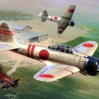 Japanese WW2 Planes/Aircraft Drivetrain