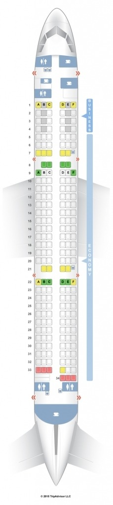Airbus A321 Seat Map Images