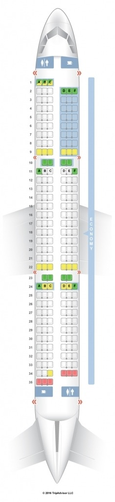 Airbus A321 Seat Map Wallpaper