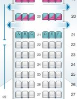 Boeing 737800 Seat Map Concept