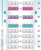 Boeing 737800 Seat Map Images