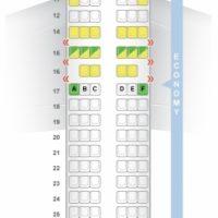 Boeing 737800 Seat Map Spy Photos