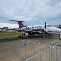 Beechcraft King Air 350i Wallpaper