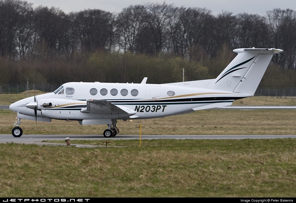 Beechcraft King Air B200 Spy Shots