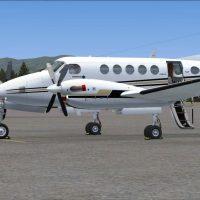 Beechcraft King Air B200 Wallpapers