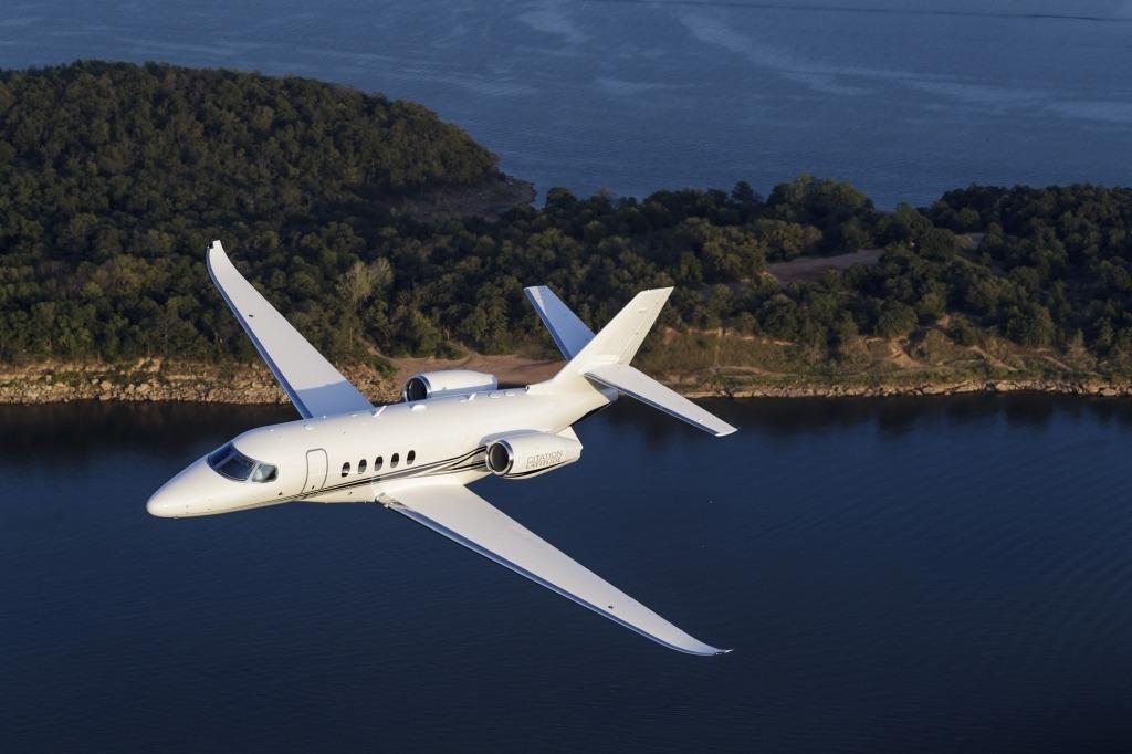Cessna Citation Latitude Spy Shots