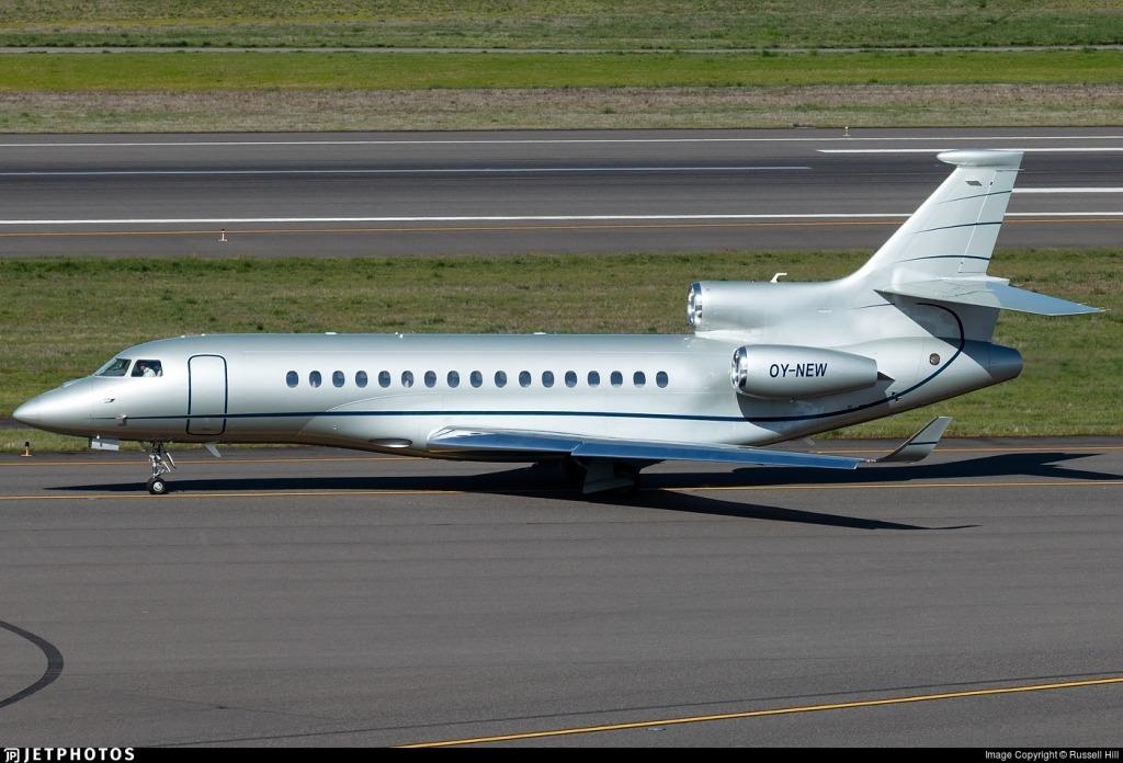 Dassault Falcon 8X Powertrain
