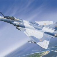 Dassault Mirage 2000 Drivetrain
