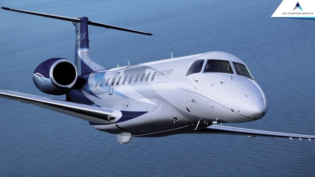 Embraer Legacy 650 Powertrain