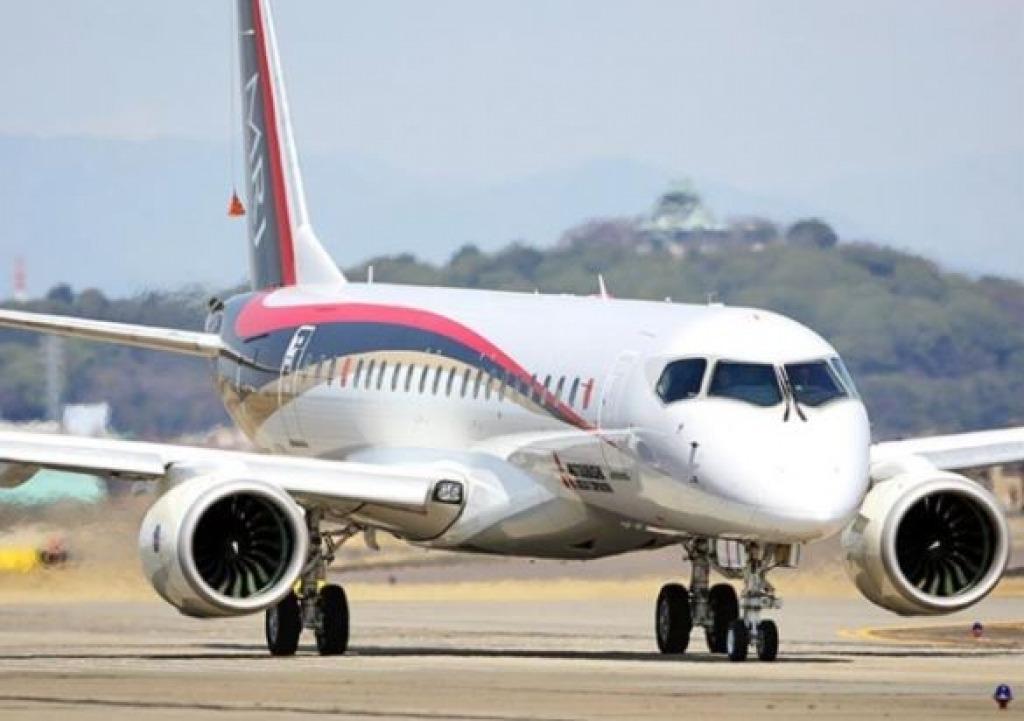 Mitsubishi Regional Jet Exterior