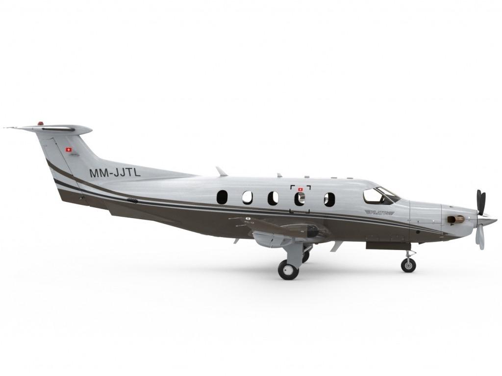 Pilatus PC12 NG Exterior