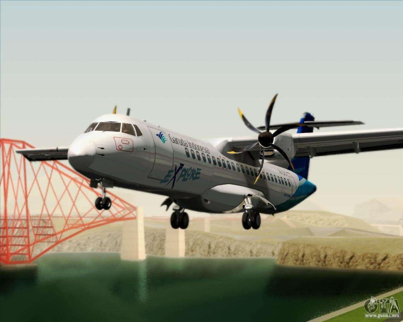 ATR 72500 Interior