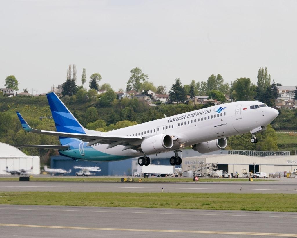 Boeing 737800BCF Spy Shots