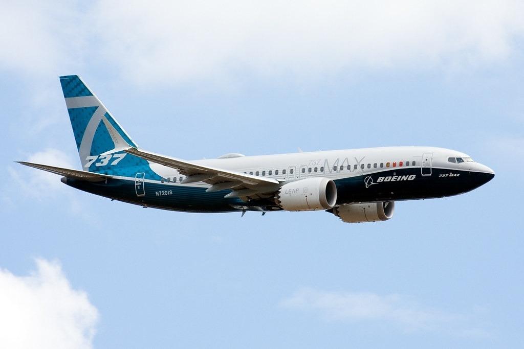 Boeing 737 MAX 7 Spy Shots