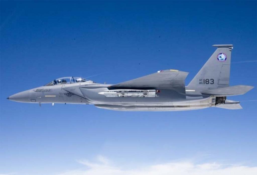 Boeing F15SE Silent Eagle Drivetrain