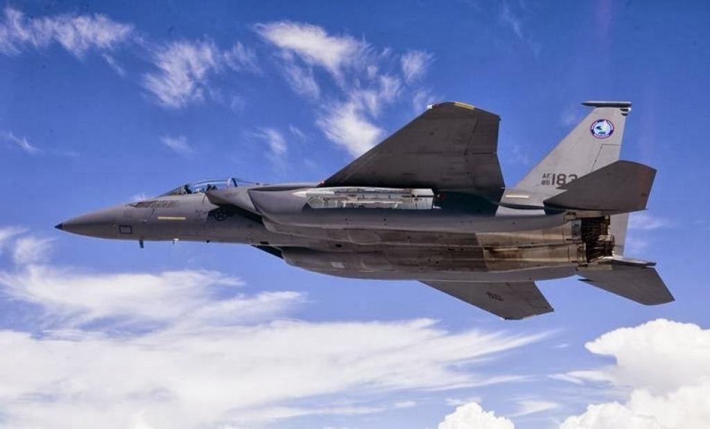 Boeing F15SE Silent Eagle Engine