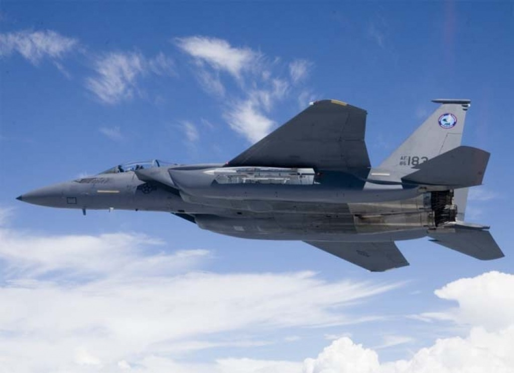 Boeing F15SE Silent Eagle Interior