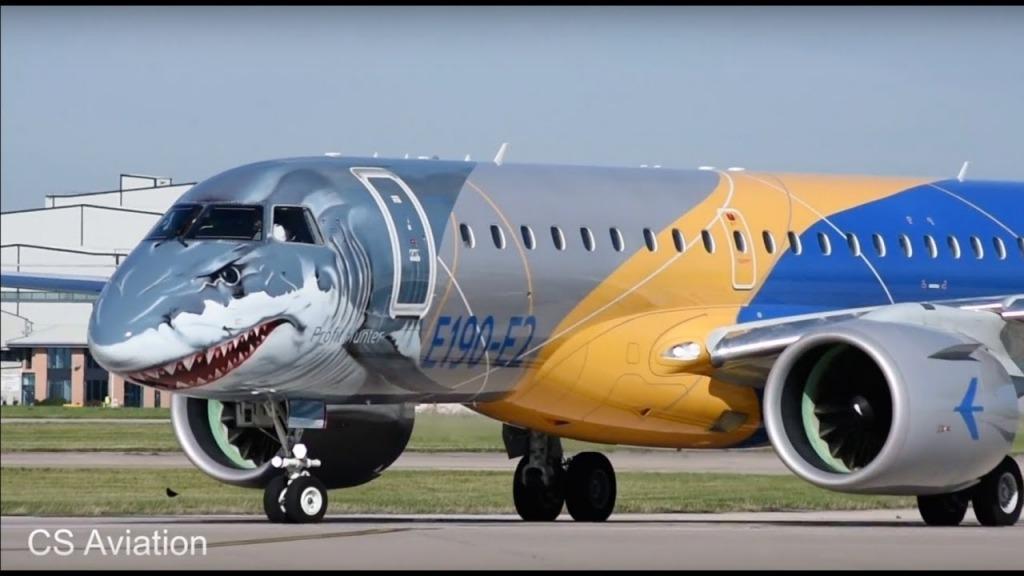 Embraer E190E2 Exterior