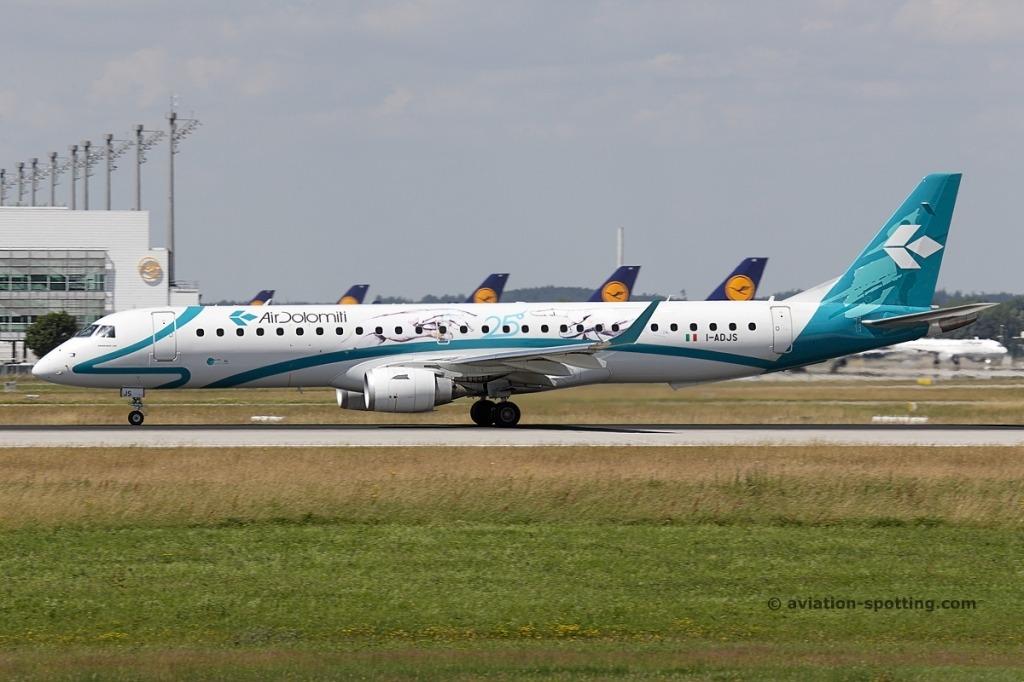 Embraer E195L Specs