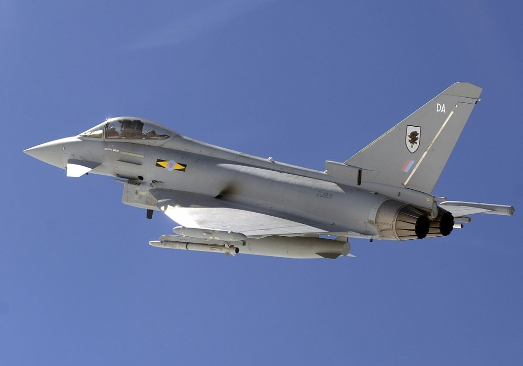 Eurofighter Typhoon Powertrain