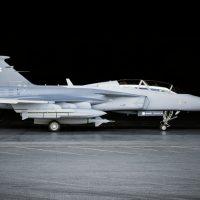 SAAB Gripen Fighter Jet Interior