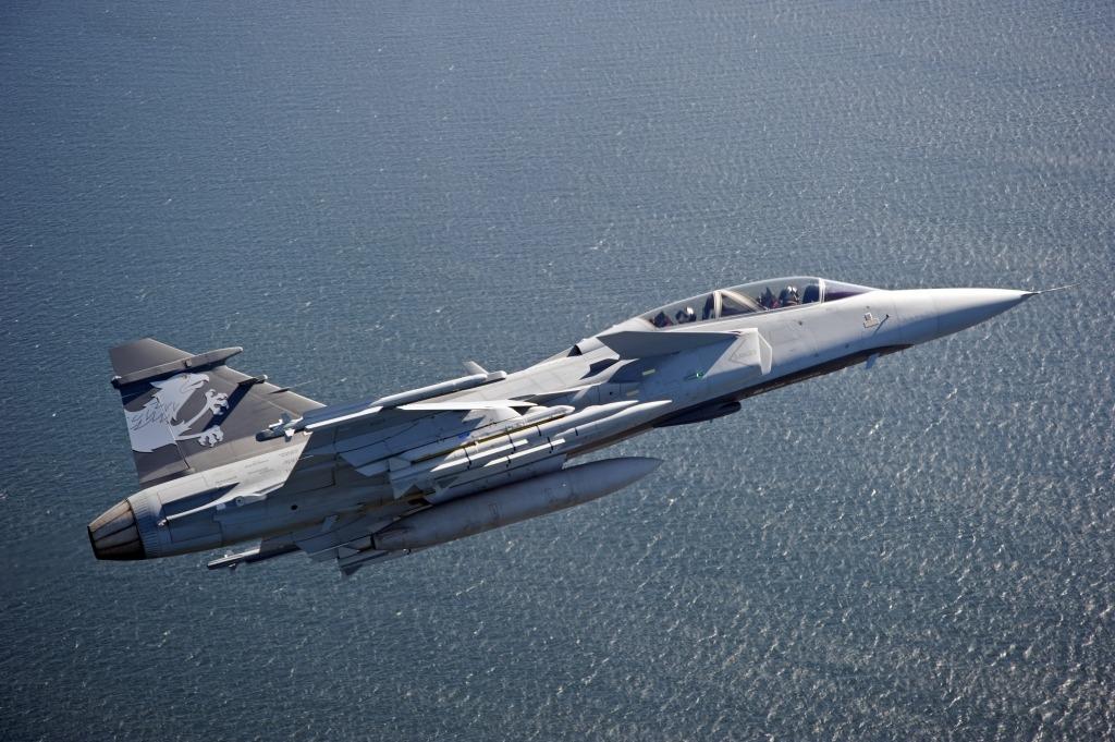 SAAB Gripen Fighter Jet Powertrain