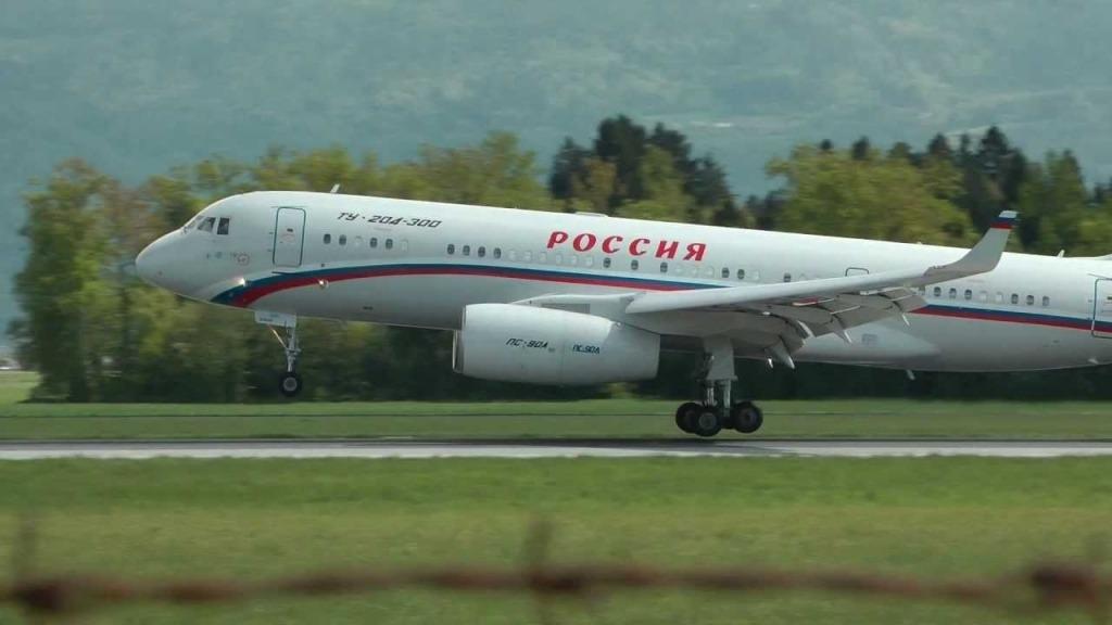 Tupolev Tu204 Specs