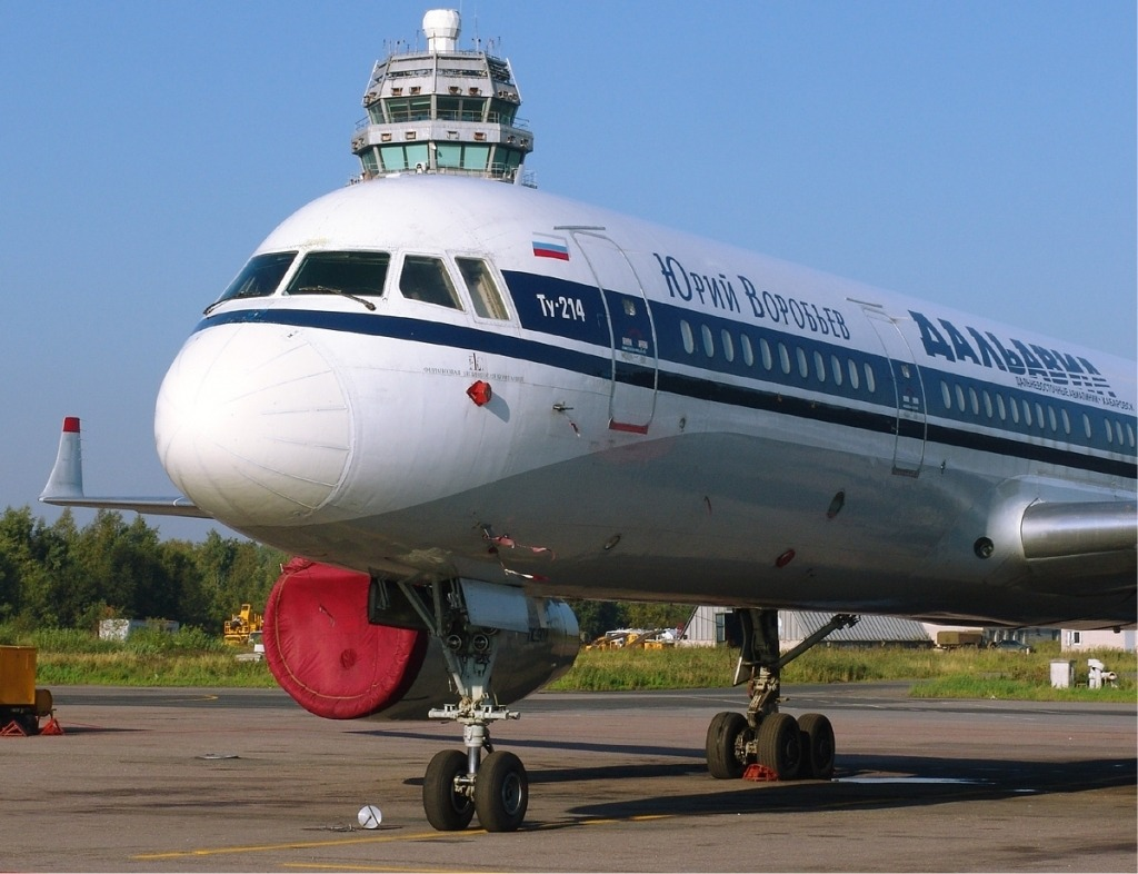 Tupolev Tu214 Interior