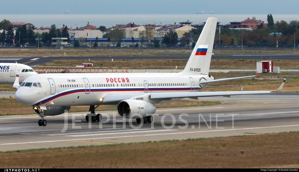 Tupolev Tu214 Spy Shots