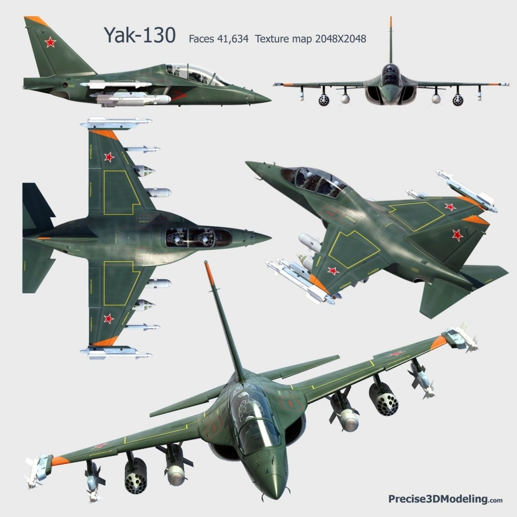 Yakovlev Yak130 Jet Specs