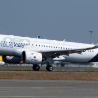 Airbus A320neo Spy Photos