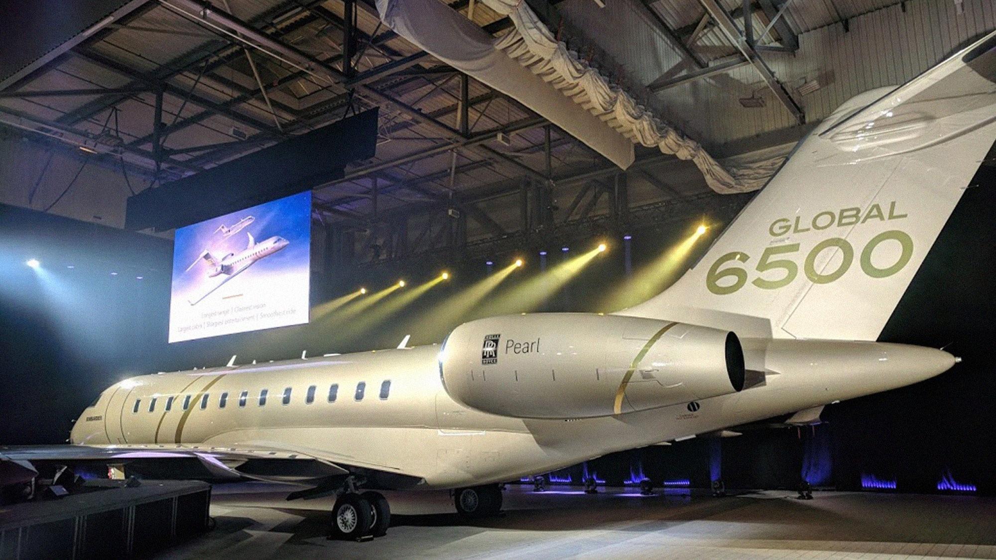 Bombardier Global 6500 Spy Shots