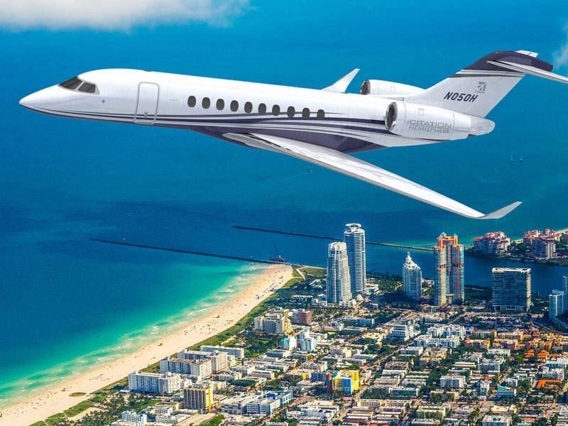 Cessna Citation Hemisphere Release date