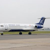 Fokker 100 Spy Photos