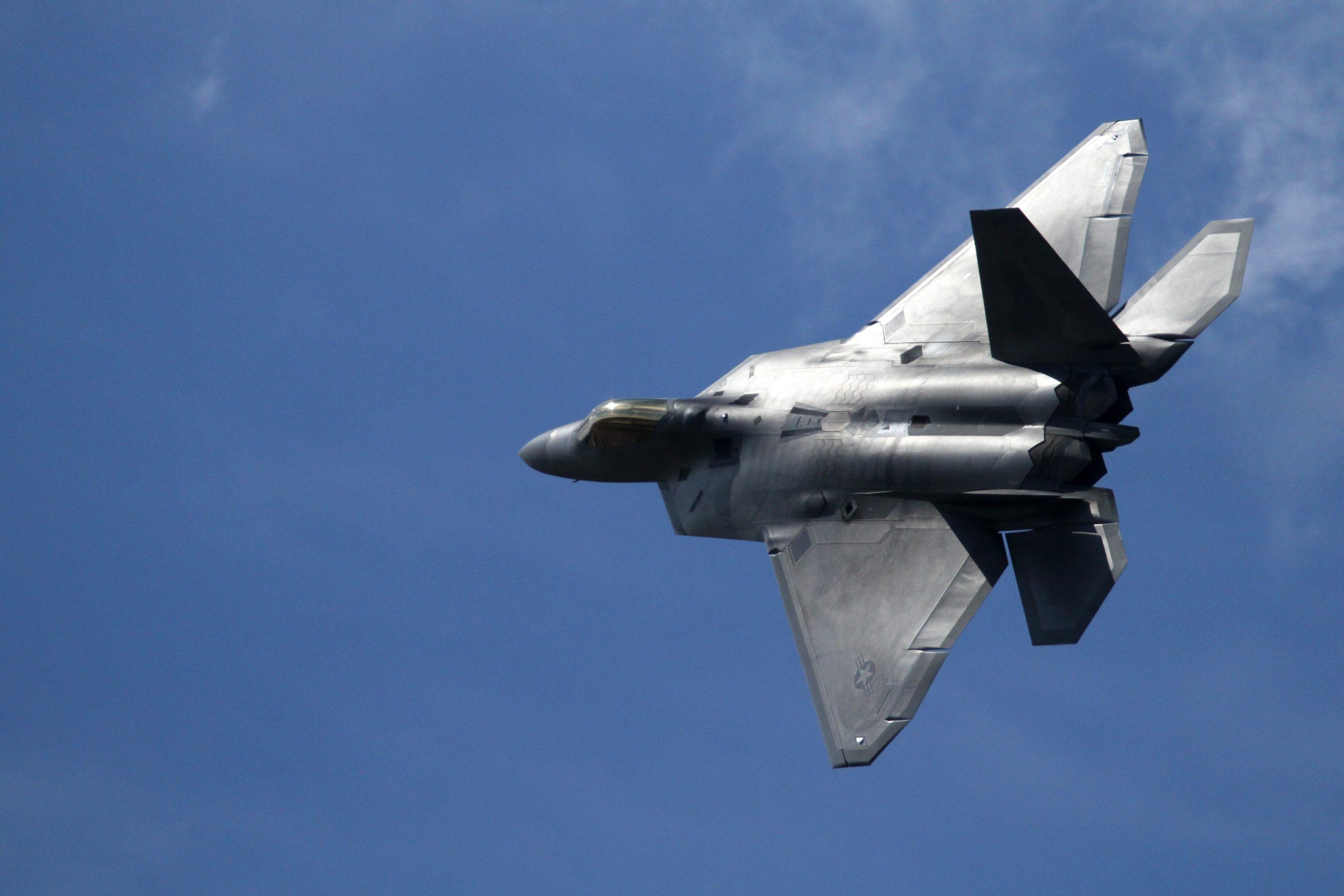 Lockheed Martin F22 Raptor Redesign