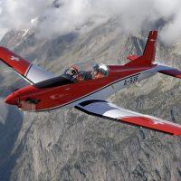 Pilatus PC7 MkII Interior