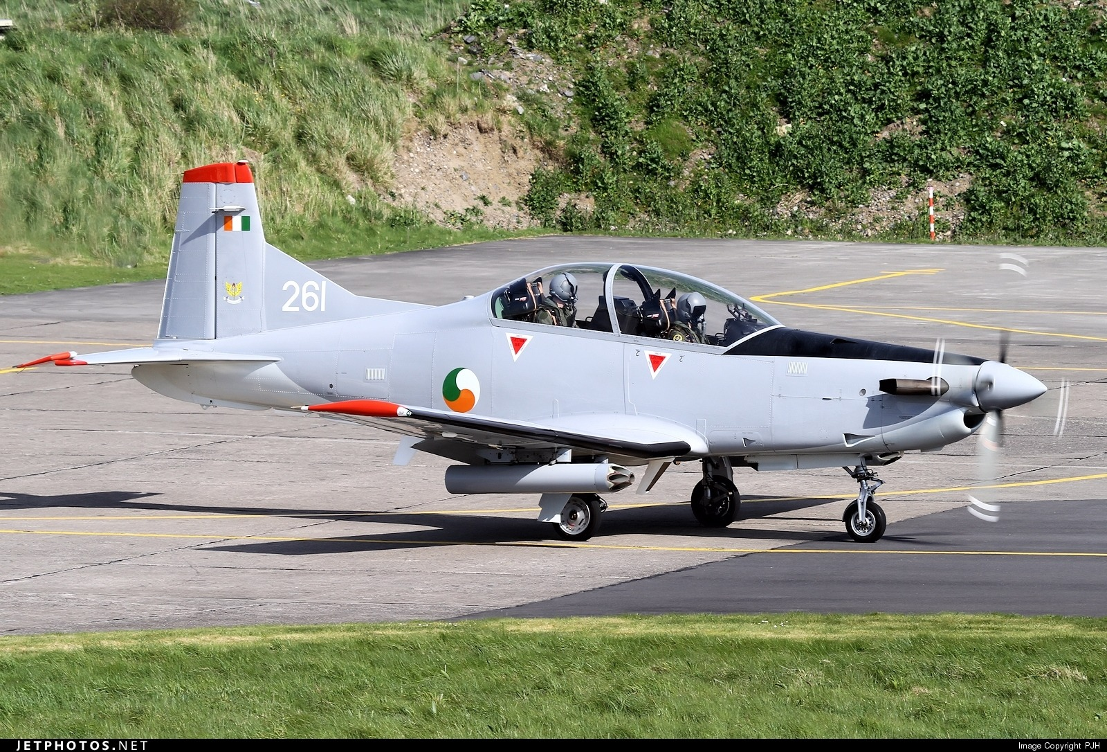 Pilatus PC9M Spy Shots