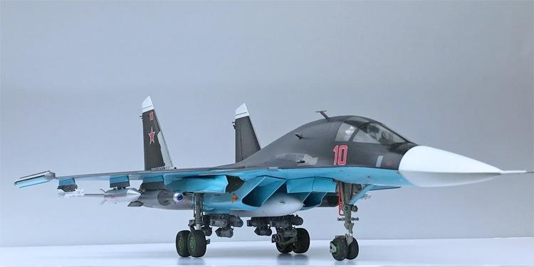 Sukhoi Su34 Fighter Bomber Spy Photos