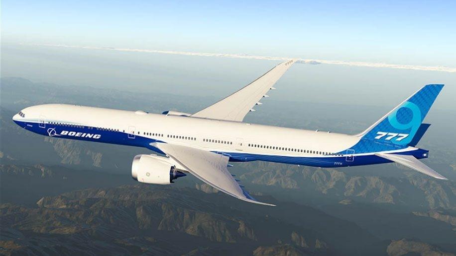 Boeing 7779X Wallpaper