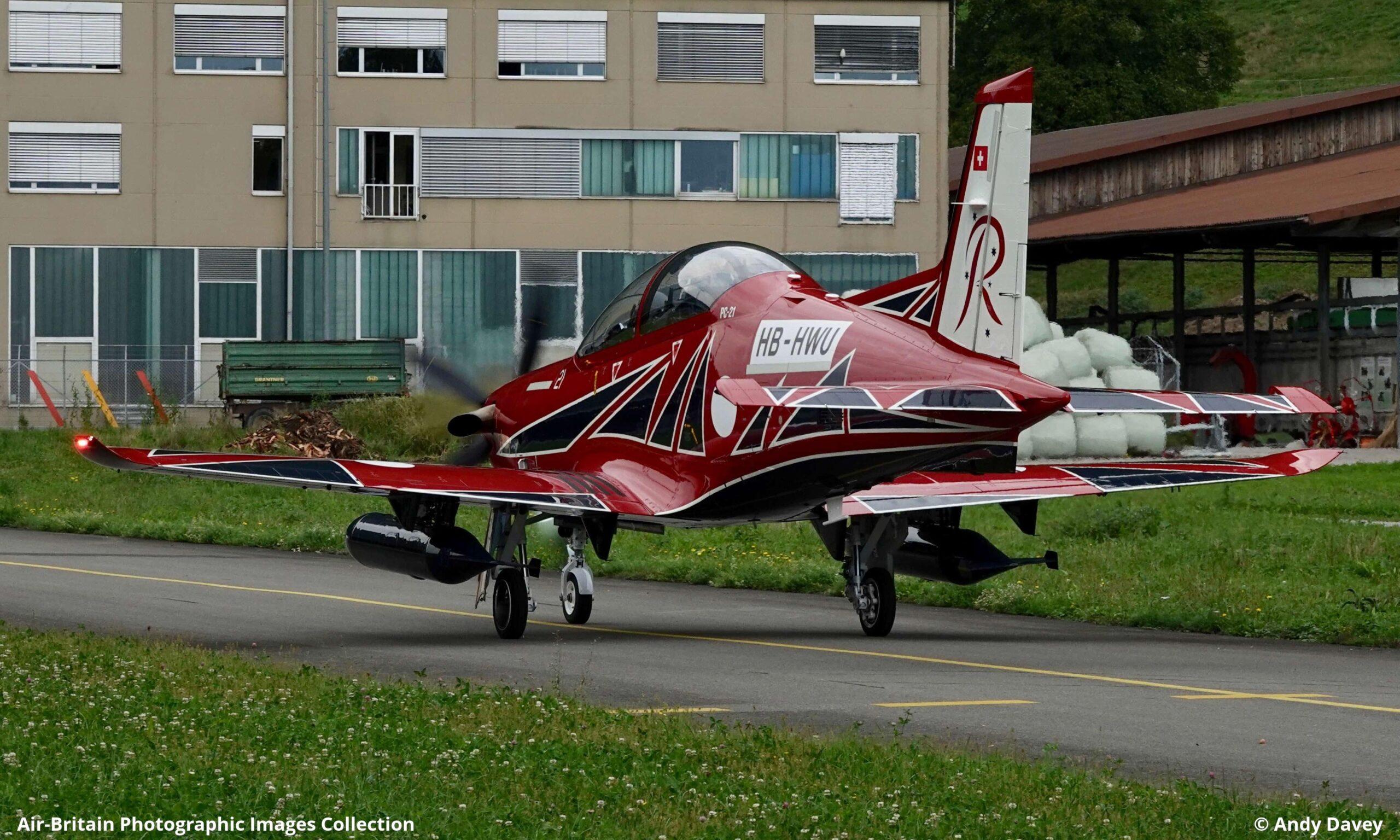 Pilatus PC21 Images
