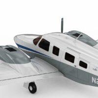 Piper PA34 Seneca V Spy Photos